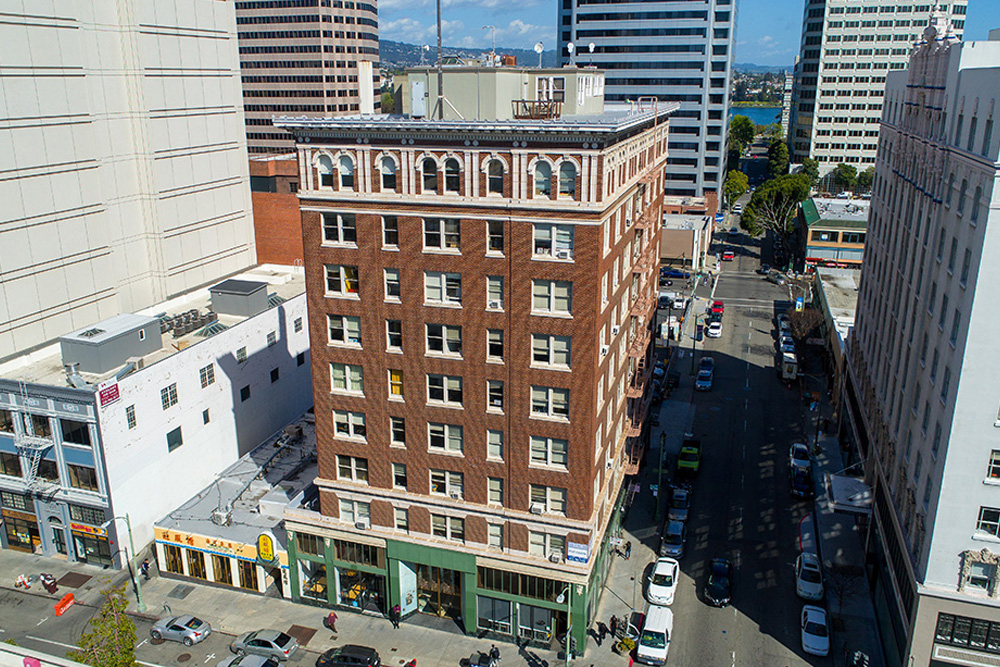 1904 Franklin building exterior in Uptown Oakland