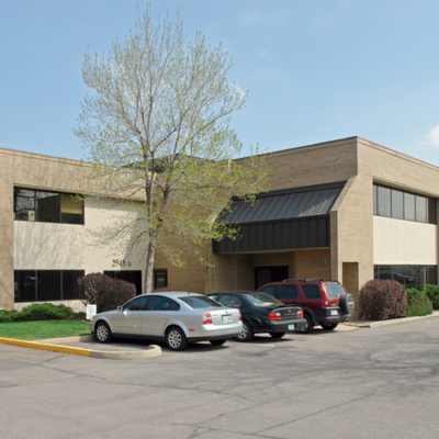 exterior with parking and part of walkway