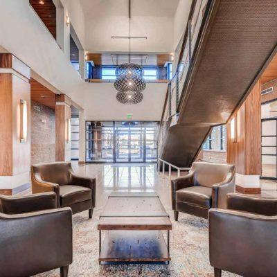Flatiron interior